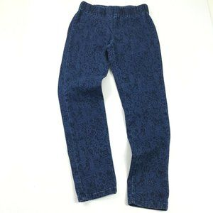 Soft Surroundings Floral Jegging Skinny Jeans Sz S